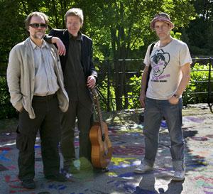 Bild på Dan Beglund, Harald Svensson och Henrik Cederblom
