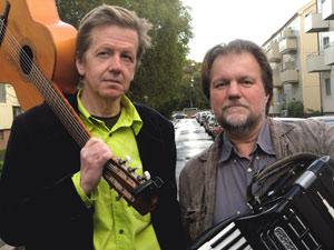 Bild på Dan Beglund och Harald Svensson